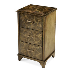 """AICO Furniture - """"Michael Amini"""" Discoveries 3-Drawer Cabinet - Features:"""