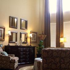 Traditional Living Room by Rhonda Ferguson, Interiors Refined LLC