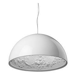 IMPORT LIGHTING & FURNITURE - Skygarden Pendant Light, White, Small/15.8'' - Dimensions: