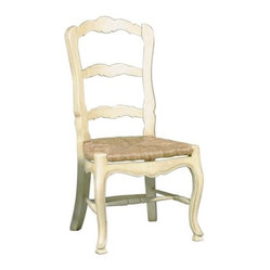 French Country Ladderback Side Chair - Set of 2