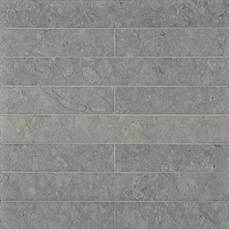 French Blue Limestone - Ann Sacks Tile & Stone - Love the subtle gray/blue/beige mix of this gorgeous stone. Would work great as a kitchen backsplash or entryway floor tile.