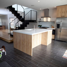 Contemporary Kitchen by Perimeter Architects