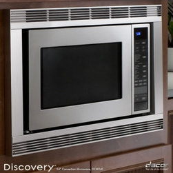 """Dacor - DCM24S Discovery 24"""" 1.5 Cu. Ft. Capacity Built In Convection Microwave with 10 - The Dacor 15 Cu Ft Countertop Convection Microwave makes cooking your favorite meals easier and quicker than ever before This model features the ConvectionCombination Cooking feature which allows your food to cook more evenly and ensures that whether..."""
