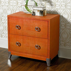 Hammary - Hammary Hidden Treasures 2 Drawer Chest - Orange Multicolor - 090-563 - Shop for Dressers from Hayneedle.com! Add a fun splash of color to your home with the Hammary Hidden Treasures 2 Drawer Chest - Orange. This beautiful chest has two spacious felt-lined drawers with metal pulls and mirrored aluminum feet.About Hammary Furniture CompanyHammary Furniture Company was started in 1943 by furniture craftsman Hamilton Bruce. The name Hammary is a combination of Hamilton and Mary (Hamilton's wife's name). Hammary is now a division of La-Z-Boy Incorporated and they specialize in providing quality home furniture for today's modern families and homes. Hammary offers a variety of occasional table styles and other furniture for home office casual dining and bedroom in all shapes sizes and materials.