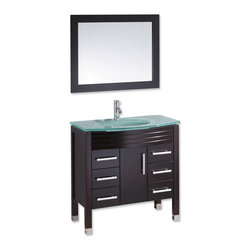 set that is easy to install? The set includes an oak wood cabinet ...