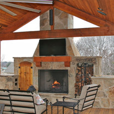 Traditional Patio by Heritage Construction Co.