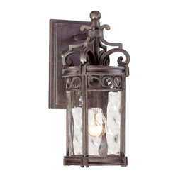 The Great Outdoors - The Great Outdoors GO 9221 1 Light Outdoor Wall Sconce from the Regal Bay Collec - Single Light Outdoor Wall Sconce from the Regal Bay CollectionFeatures: