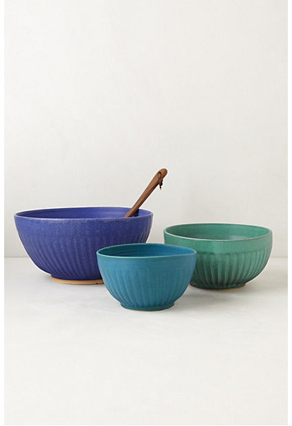 Contemporary Mixing Bowls by Anthropologie