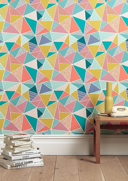 contemporary wallpaper by Sian Elin