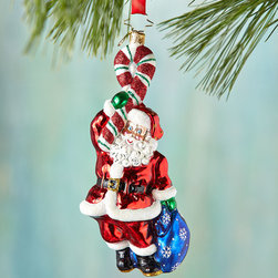 """Christopher Radko - Citizen Cane Christmas Ornament - Christopher RadkoCitizen Cane Christmas OrnamentDetailsMade of glass.Hand painted.6""""T.Made in Poland.Designer About Christopher RadkoFor more than 20 years Christopher Radko has been designing and producing handmade ornaments gifts and home decor for every special occasion and season that the calendar brings. His creations have become collectors' items favored gifts and keepsakes among those who give and receive them in celebration of life's milestones and memorable occasions."""