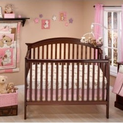 Little Bedding by NoJo Dream Land Teddy Girl Crib Set - A classic and comforting theme for a little girl's room, the Little Bedding by NoJo Dream Land Teddy Girl Crib Set features a collection of soft and hug-worthy teddy bears in pink and other neutral colors. Made of a cotton/polyester blend, this 10-piece set comes with a comforter, two crib sheets, dust ruffle, a mobile, diaper stacker, birth certificate, one wall hanging, and two sheets of wall decals.About NoJoOffering fashionable, safe, and reliable products throughout the United States for the past 40 years, NoJo's goal is to offer fashion-forward infant and toddler bedding, blankets, and accessories that meet the demands of today's modern lifestyle. NoJo puts not only style into their products, but comfort and safety, too.