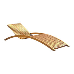 Great Deal Furniture - Shannon Outdoor Wood Folding Chaise Lounge Sunbed - The Shannon Folding Sunbed makes the perfect lawn or poolside addition. Relax in style with this wooden sunbed that folds for easy storage and transportation. This practical sunbed will have you entertaining and enjoying all that the outdoors have to offer.