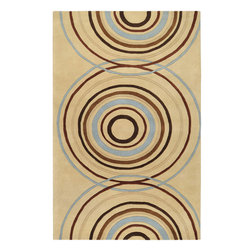 """Forum FM-7078 Rug - 7'6""""x9'6"""" - Inspired by casual lifestyles, this area rug is Hand tufted of 100% New Zealand wool, giving these rugs the quality to look great for years to come. Make your home feel like you are on vacation 365 days a year."""