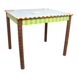 Fantasy Fields - Fantasy Fields Sunny Safari Activity Table Multicolor - TD-0049A - Shop for Childrens Tables from Hayneedle.com! Let your kids play and create with the Teamson Design Sunny Safari Activity Table. This table is just the right size for little ones and features all wood construction. Its hand-painted finish offers a colorful safari theme. Its spacious top offers plenty of room for games snacks art and more.About Teamson DesignBased in Edgewood N.Y. Teamson Design Corporation is a wholesale gift and furniture company that specializes in handmade and hand-painted kid-themed furniture collections and occasional home accents. In business since 1997 Teamson continues to inspire homes with creative and colorful furniture.