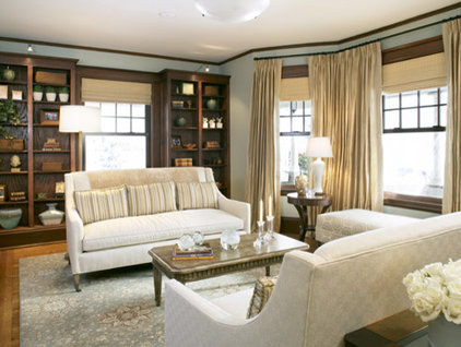 traditional living room by Abbeyk, Inc.