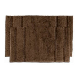2 Piece Princess Bath Rug Set - Give your bathroom - and your feet - the royal treatment with the 2 Piece Princess Bath Rug Set. This super soft bath set is available in a variety of gorgeous colors, perfect for any bathroom. The colorfast design and ultra durable construction will keep your bath beautiful for years.About Garland SalesEstablished in 1974, Garland Sales, Inc. has grown as a leading manufacturer and supplier of a wide range of fashionable, tufted area rugs and decorator bath rugs. Operating in the heart of the carpet manufacturing industry in Dalton, GA, Garland Sales, Inc. continues to expand its product line through innovative product development and milestone merchandising techniques. Offered in a wide array of yarns, patterns, colors, weights, and backings, their products are sought after throughout the country. The colorfast designs, quality construction, and lasting beauty of a Garland Sales rug is a look and feel you'll love in your bathroom for years.
