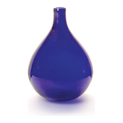 Go Home - Cobalt Demijohn Bottle - If you purchase one new accessory for your home this season, let it be one of our fabulous over sized bottles. These bottles are antique replicas of vineyard storage jars from the 1800's. Colors like antique smoke, algae, amber and cobalt will create a vivid focal point on your mantel, coffee table, entry table or dining buffet. Magnificent standing alone or group together on your dining table for that wow factor!