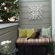 Eclectic Patio by Dean J. Birinyi Photography