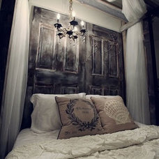 eclectic headboards by WindowWorks Design
