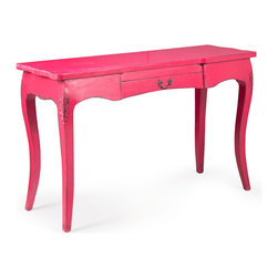 ZUO ERA - Lockwood Console Table Distressed Pink - Lockwood Console Table Distressed Pink