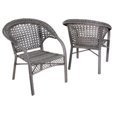 Contemporary Outdoor Lounge Chairs by Great Deal Furniture