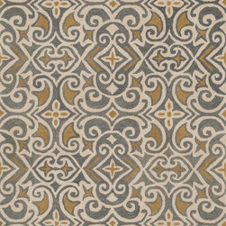 """Loloi Rugs - Loloi Rugs Fairfield Collection - Beige / Multi, 7'-6"""" x 9'-6"""" - �Updated traditional' may seem like the perfect paradox, but that's exactly the style you can expect from the Fairfield Collection. These classic designs have been refashioned to feature narrower borders and less ornate pattern for a look that's timely, yet timeless. And while your eyes admire the design and colors, your feet will thank you for the feel of thick, all wool pile. Hand-tufted in India, Fairfield rugs are a new classic for today."""