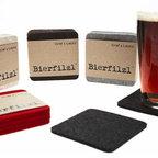 Bierfilzl Wool Coasters -