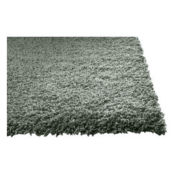 KAS - Bliss 1565 Slate Rug by Kas, 27 in X 45 in - The Bliss Collection from KAS offers an extremely soft texture that is very child friendly. Hand woven from 100% polyester, these rugs are made with warm inviting color tones to go great with virtually any home decor. You will be amazed by the softness of these rugs!