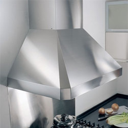"""Kobe - RA02 RA0248SQB-1 48"""" Wall Mount Range Hood With High-Performance Fan  Easy Contr - The RA02SQB-1 wall mount range hood is constructed of 18 gauge commercial grade stainless steel ensuring its quality and durability The three different speed levels lets you select the lowest speed needed to quickly remove all cooking odors from your..."""