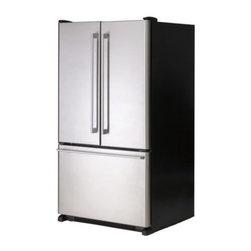 Mikael Warnhammar - NUTID Fridge + freezer - Fridge + freezer, Stainless steel