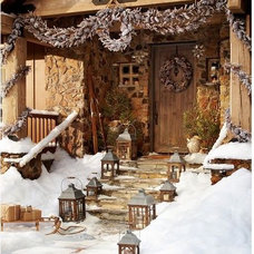 Winter Woods Garland | Pottery Barn