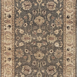 """Pakistan - Pakistan  Hand Made Wool Rug 4' 0"""" x 6' 0 - Original Hand made rugs form michael rugs collections"""