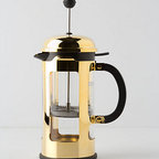 Bodum - Bodum Chambord French Press - A golden play on the classic French press, this coffeemaker will add sparkle and shine to your mornings.