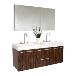 shop 54 inch double sink bathroom vanity bathroom vanities