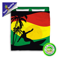 Go Green With Our Eco Friendly Surf and Beach Bedding and Bath Products! -