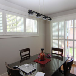 Denver residence slider shutters - Colorado Shade and Shutter