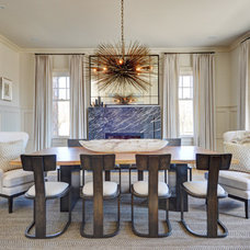 Contemporary Dining Room by Tamara Magel Studio