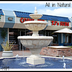 Natural Stone Fountains - https://www.facebook.com/pages/All-in-Natural-Stone/118375988202587?viewer_id=100001134482214