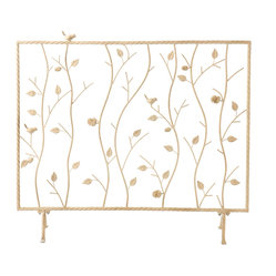 Willow Fireplace Screen, French Vanilla