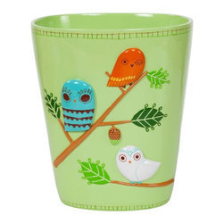 Creative Bath - Creative Bath Give a Hoot Wastebasket - GIV54MULT - Shop for Wastebaskets from Hayneedle.com! About Creative BathFor over 30 years Creative Bath has developed innovative stylish bathroom decor items. They have grown exponentially and now you can find their products in major retail and online stores around the world. From shower curtains to soap dishes and everything in between Creative Bath brings you high quality items to enhance your lifestyle.
