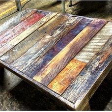 Rustic Coffee Tables by Legacy Building