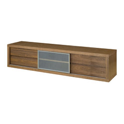 Perkins Media Unit, Walnut