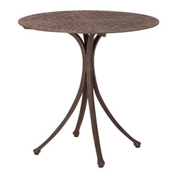 Woodard Landgrave - Madrid Round Bistro Table - All products are made to order. Orders cannot be cancelled after 5 calendar days. If order is cancelled after 5 calendar days, a 50% restocking fee will be applied
