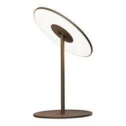 Pablo Designs - Circa Graphite Table Lamp - Features: