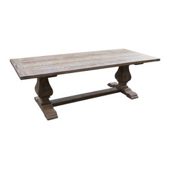 Segovia Reclaimed Douglas Fir Dining Table
