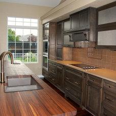 Transitional Kitchen by Deborah Dyste. ASID - Registered Interior Designer