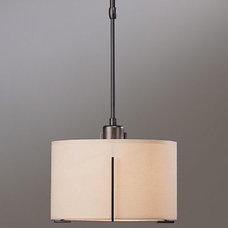 Pendant Lighting Exos Single Small Pendant by Hubbardton Forge