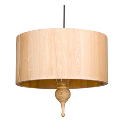 Circle of Life Pendant - We love the idea of hanging this gorgeous ceiling light pendant above your coffee table, bed, or office desk. Crafted from wood, the Circle of Life Pendant works well in any room, no matter the décor. Simple yet intriguing, chic yet rustic, this pendant will add a touch of modern sophistication wherever it hangs.