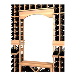 Wine Cellar Innovations - Archway & Table Top Insert; WineMaker: Premium Redwood, Classic Mahogany - The Archway and Table Top insert kit is designed to fit within the WineMaker Series Individual Bottle Capacity Bottle Kits (INDGT), only, and will not stand alone with out it. Assembly Required.