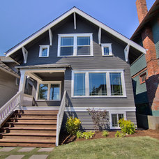 Craftsman Exterior by FlippingSeattle.com